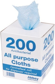 Anti Bacterial Cloth on a Roll (200)
