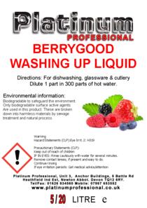 Berrygood Washing-up Liquid